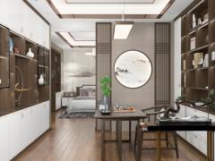 禅意新中式家装 方寸之间皆是诗情画意!